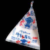 べつかいの牛乳屋さん(三角パック)正面