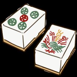 カゼインプラスチック雀牌
