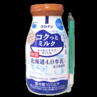コクっとミルク-特選北海道4.0牛乳_正面