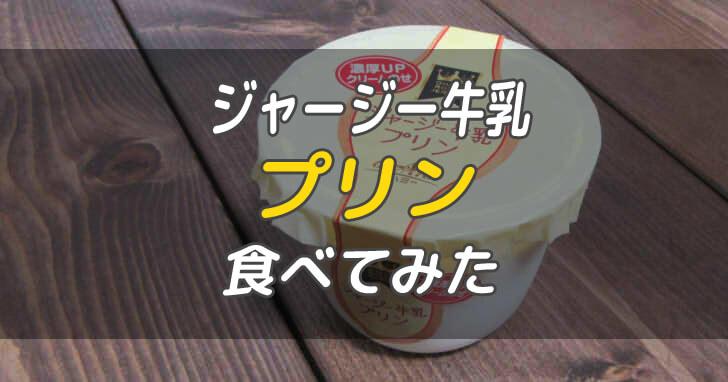 ジャージー牛乳プリン_00