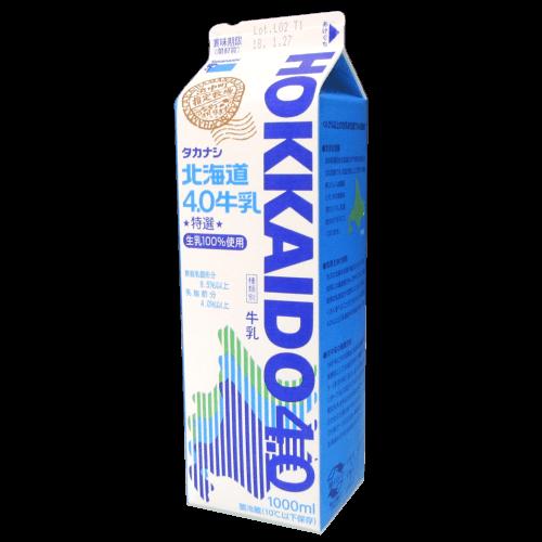 タカナシ-HOKKAIDO4.0(北海道4.0牛乳)の拡大画像