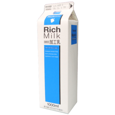 タカナシ-RichMilk(リッチミルク)_正面