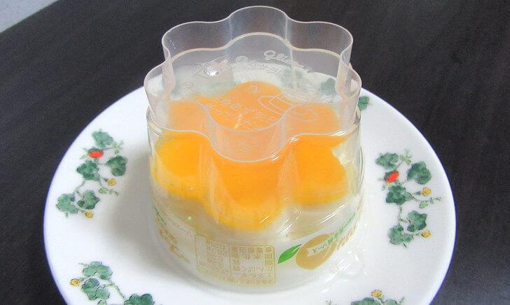 プッチンプリン-香り華やか黄金桃ソース-ミルク-手順紹介007