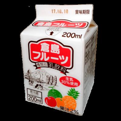 倉島フルーツ200ml_正面