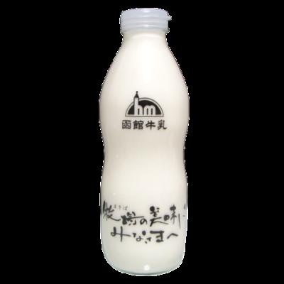 函館牛乳-牧場の美味しさみなさまへ_正面