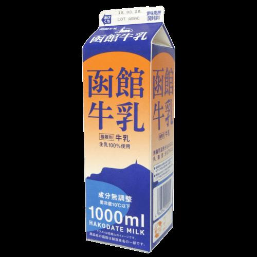 函館牛乳の拡大画像