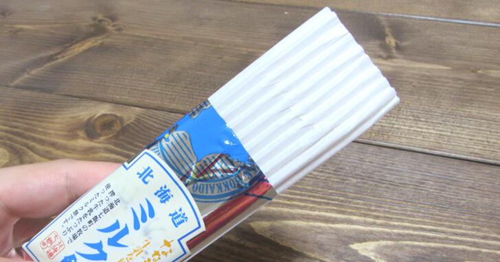 北海道ミルク餅_取り出し