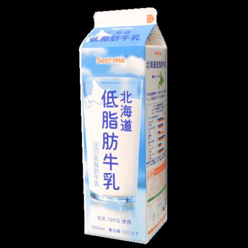 北海道低脂肪牛乳(セイコーマート)の拡大画像