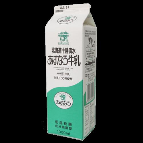 北海道十勝清水-あすなろ牛乳の拡大画像