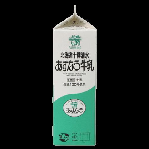 北海道十勝清水-あすなろ牛乳の写真3