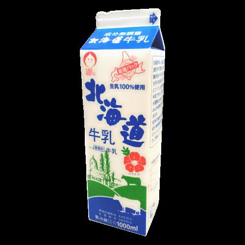 北海道保証牛乳 北海道牛乳の拡大画像