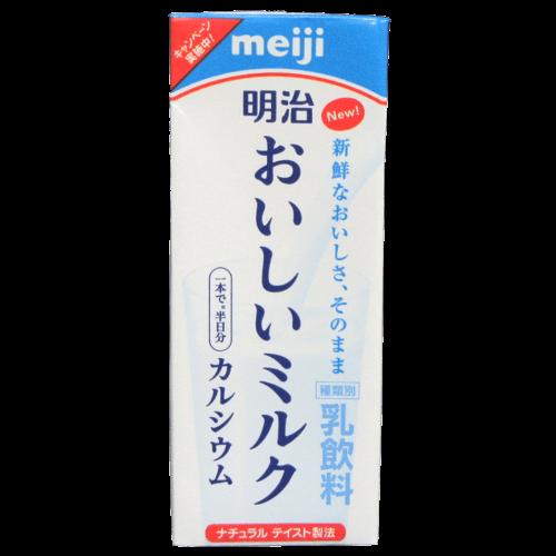 明治おいしいミルク カルシウムの写真2