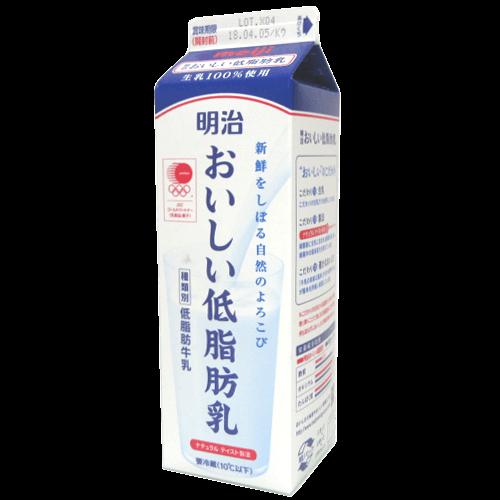 明治おいしい低脂肪乳の拡大画像