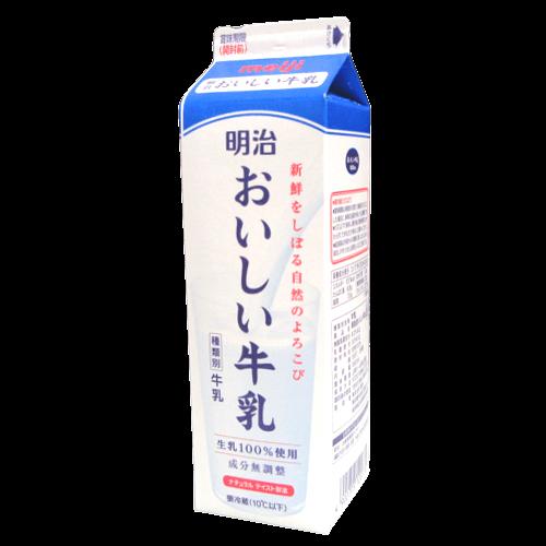 明治おいしい牛乳の拡大画像