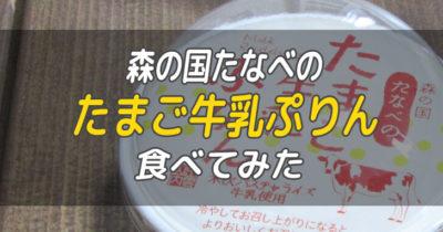 森の国たなべのたまご牛乳ぷりん_00