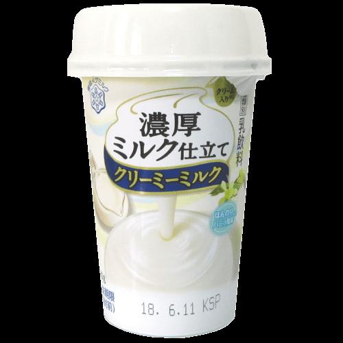 濃厚ミルク仕立てクリーミーミルクの拡大画像