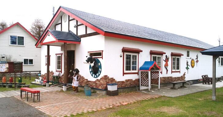 牛小屋のアイス_外観