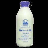 蒜山ジャージー牛乳-無調整・無均質_正面