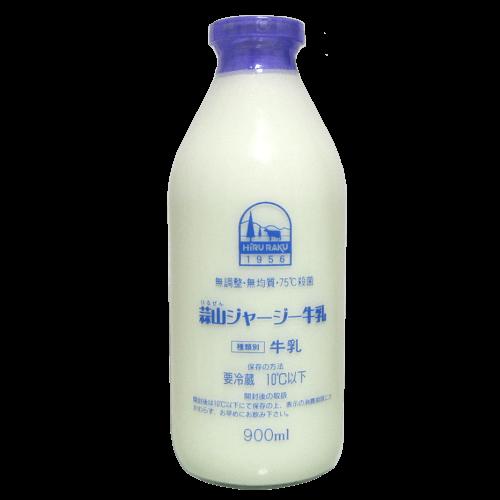 蒜山ジャージー牛乳-無調整・無均質の拡大画像